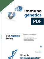 Immuno Genetics