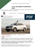 Google driverless car_ brevettato un sistema collante salva pedoni