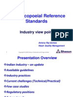 pharmacoieal standards