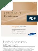 Manuale lettore MP3