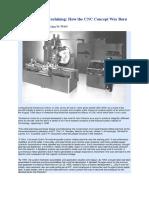 History of CNC Machining