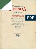 Fernando Pessoa Los-poemas de Alberto Caeriro I
