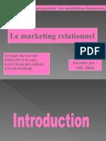7396893 Le Marketing Relationnel PPT