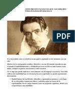 1917 Rudolf Steiner y la vacuna