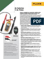 Analizadores de Baterias_Serie BT 500_FLUKE