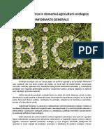 Inspectia tehnica in domeniul agriculturii ecologice