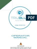 TRUBLUE Autobelay Operators Manual