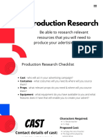 production research
