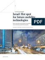 Israel Hot Spot for Future Mobility Technologies VF