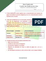 A.2.2 - O tempo das reformas religiosas - Ficha de Trabalho (1) - Soluções