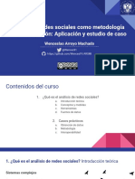 Análisis de redes sociales como metodología de investigación