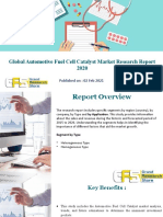 Global Automotive Fuel Cell Catalyst Market Research Report 2020