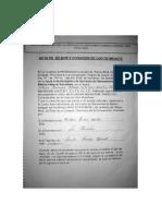 ACTA DE SESION Y DONACION DE OJO DE MANANTE