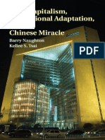 Barry Naughton, Kellee S. Tsai - State Capitalism, Institutional Adaptation, And the Chinese Miracle-Cambridge University Press (2015)