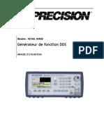 Fonction generator Bk4040B Manual
