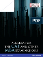TIME - Algebra for the CAT and Other MBA Examinations-Pearson (2012)