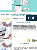 Global Natural Killer (NK) Cell Therapeutics Market Size, Status and Forecast 2021-2027