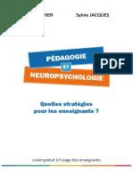 Livret Pedagogie Neuropsychologie v201701