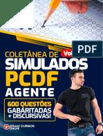 PCDF Coletanea de Simulados Agente Vol 2