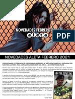 Novedades Aleta Ediciones Febrero 2021