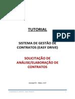 1.TUTORIAL SOLICITAÇÃO - ANÁLISE OU ELABORACAO DE CONTRATOS