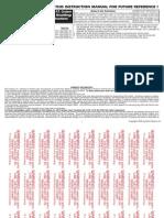 01 06 CHRYSLER PT CRUISER MOLDINGS INSTALLATION MANUAL CARID.COM