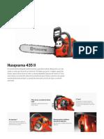 Husqvarna 435 II - fisa tehnica-1