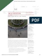 Texto 1 - Desafio do Desenho Urbano para a Cidade