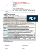 Contoh RPP PJOK 10 (1 Lbr)
