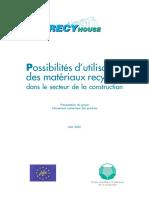 CSTC - Recyhouse FR - 2002
