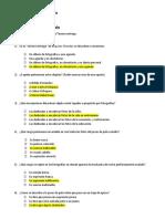 Consigna N° 5. Cuestionario de opción múltiple. Capítulo III (Corregido)