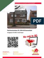 Brochure Patrimoniumlaan 59 Te Veenendaal