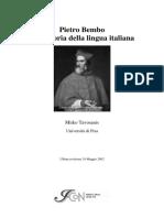 Tavosanis, Pietro Bembo Nella Storia Della Lingua Italiana