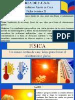 FÍSICA FICHA SEMANA 21