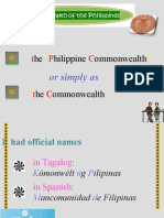 Commonwealth Presentation