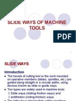 Slide Ways of Machine Tools.ppt