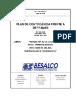 2494 PLA670016 Plan Contingencia Derrames