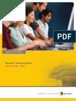 Symantec_Education_Services_Catalog