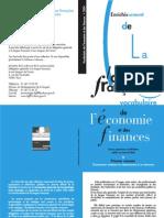 Vocabulaire Economie Et Finance