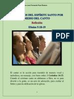SER LLENOS DEL ESPÍRITU SANTO POR MEDIO DEL CANTO