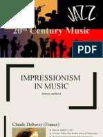 Music of 20th Century
