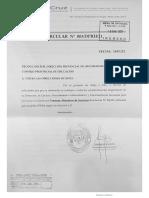 CPE emitió la Circular CPE 003/21 del 14 de enero de 2021