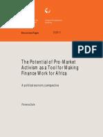 Activism in Finance