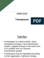 Emm 3242 Transduser (Week 4)