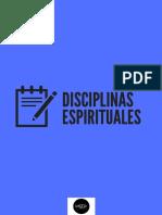 Disciplinas Espirituales y Devocional (1)