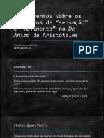 De Anima_Aristóteles_Beçart