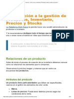 Introducción a la gestión de Productos, Inventario, Precios y Stocks en la Plataforma EGA Futura ERP nube ? Tutorial » Como crear y administrar Productos, Stock y Listas de precios_