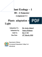 Plant Ecology 4