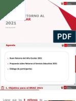 Cartilla de Bienvenida Del Año Escolar 2021 - EducarPerú