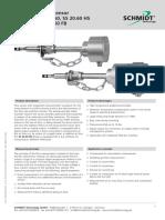 Catalogo Sensor Flujo y Velocidad SS 2060